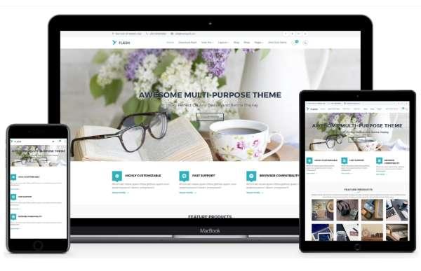 Flash - бесплатная многопользовательская тема WordPress