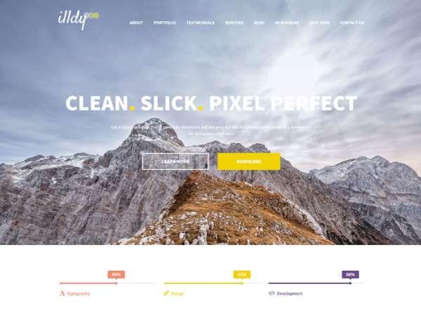 Illdy - бесплатная многопользовательская тема WordPress
