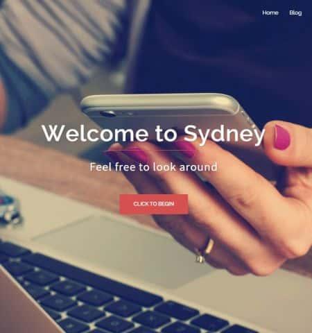 Sydney - Бесплатная, современная тема WordPress