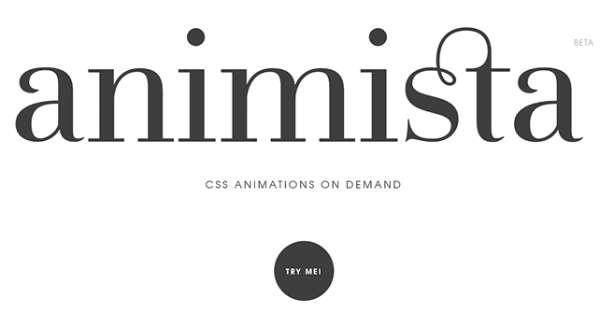 Animista - Онлайн-библиотека анимаций CSS