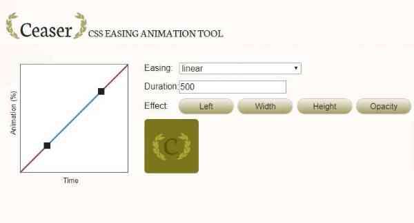 Ceaser - Анимация CSS