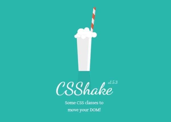 CSShake - Анимация CSS