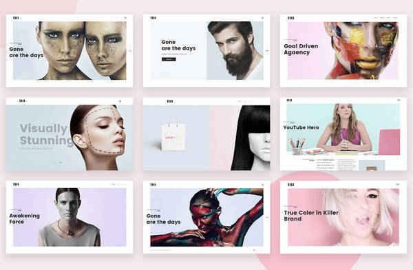 Adios - многопользовательская тема сайта портфолио WordPress