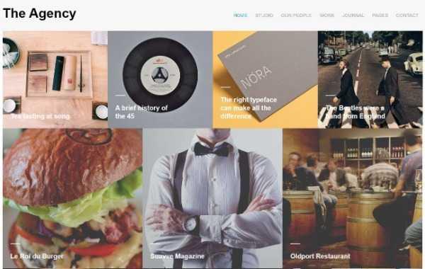The Agency - современная и творческая тема WordPress