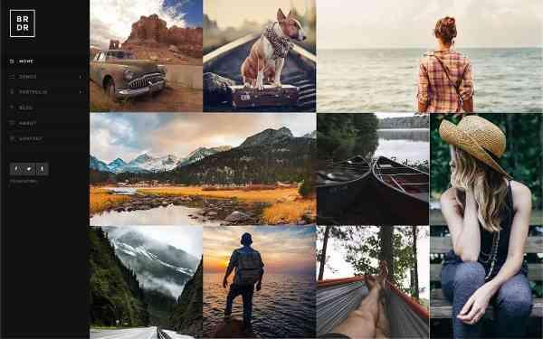 Borderland - мульти-концептуальная тема WordPress