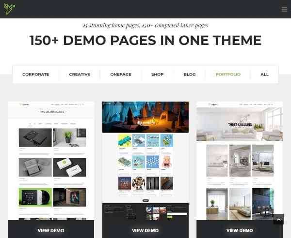 Crane - Настраиваемая многопользовательская тема WordPress
