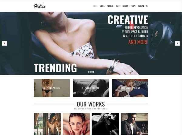 Hellen - Элегантная и минималистическая тема WordPress