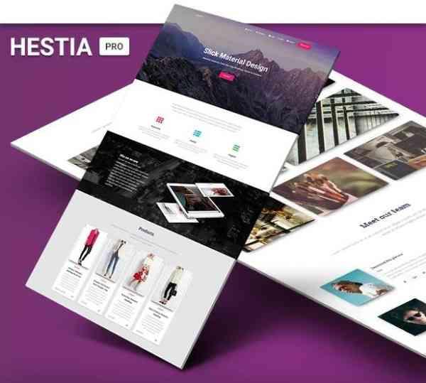 Hestia Pro - Тема WP в материальном дизайне