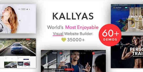 KALLYAS - Многопользовательская тема WordPress для творческой электронной коммерции