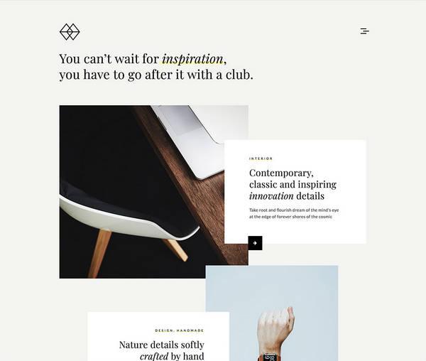 Park - Креативная портфолио тема WordPress