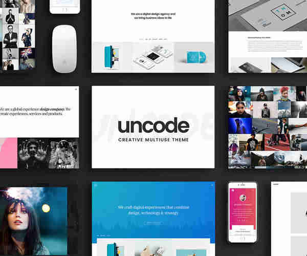 Uncode - профессиональная, отзывчивая и многофункциональная тема WordPress.