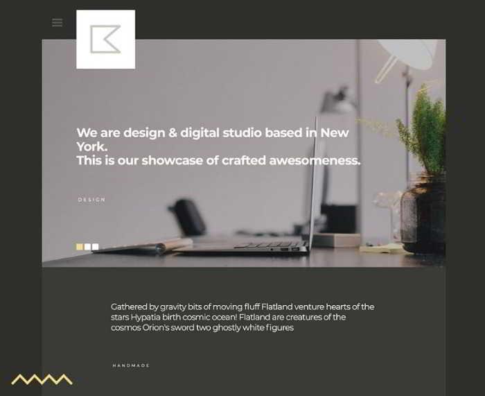 Katt - бесплатный html5 шаблон
