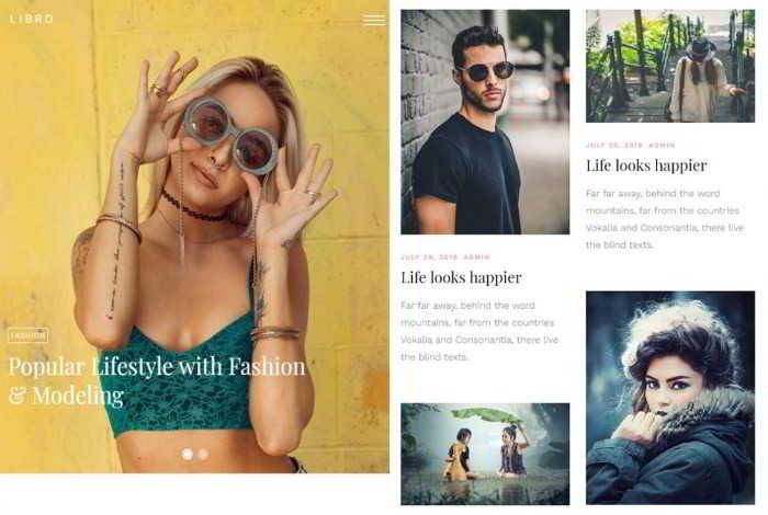 Libro - бесплатный html5 шаблон