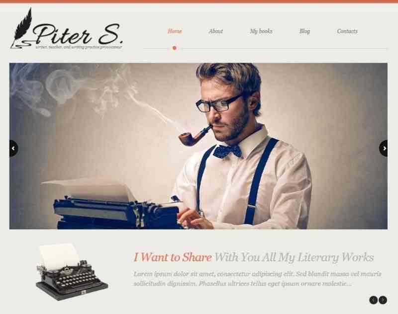 Personal Page - Адаптивный WordPress шаблон